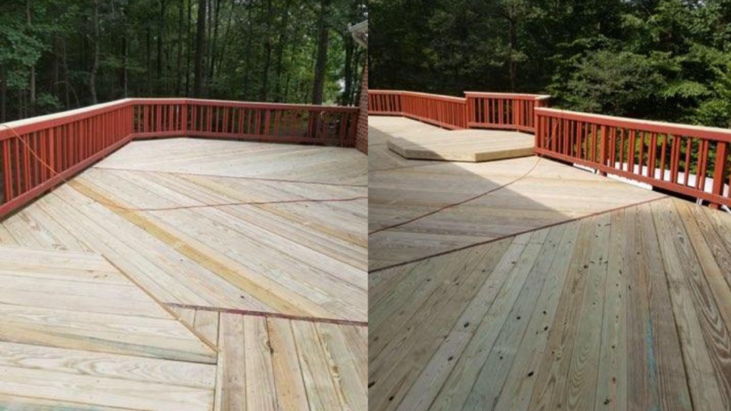 Deck repair after