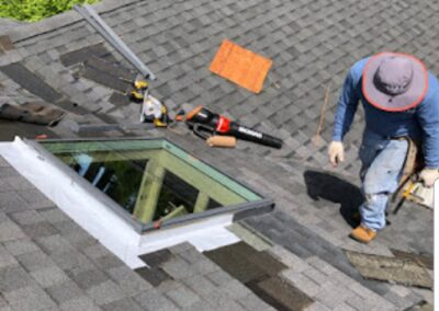 Skylight Installation Cut Out