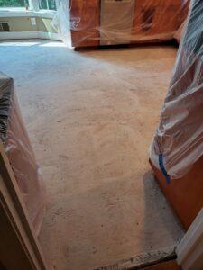 Tiling Subfloor prep
