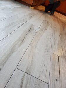 Wood grain tile final best installation near me